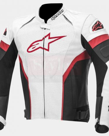 GP Plus R Perforated Motorcycle Leather Jacket-Alpinestars Motorcycle Collection Free Shipping