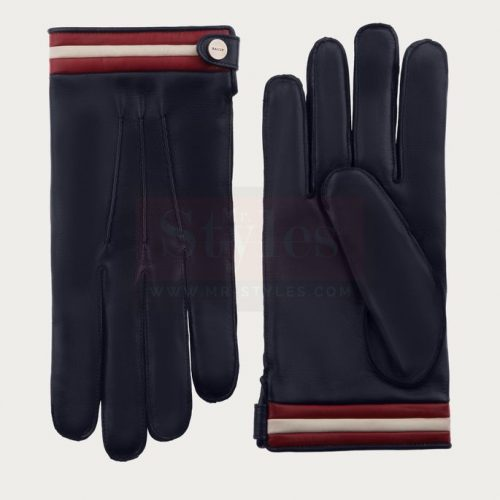 Bally Nappa Leather Gloves Fashion Collection Free Shipping