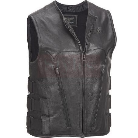 Wilsons Big& Tall Milwaukee Leather Vest Fashion Collection Free Shipping
