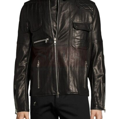Diesel Lunt Leather Jacket For Mens Fashion Collection Free Shipping