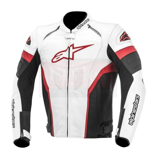 Celer Men's Motorcycle Leather Jacket-Alpinestars Replica Motorcycle Collection Free Shipping