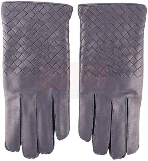 Bottega Veneta Dark Navy Nappa Glove Fashion Collection Free Shipping