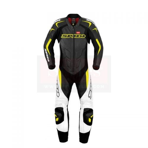 Assen Perforated Race Suit-Dainese Replica Motorcycle Collection Free Shipping