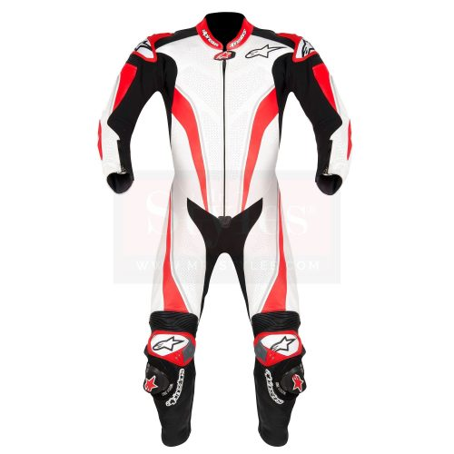 D-Air Misano Perforated Race Suit-Dainese Replica Suits Free Shipping