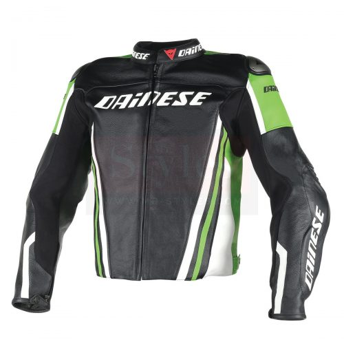 Perforated Men's Motorcycle Leather Jacket-Dainese Replica Motorcycle Collection Free Shipping