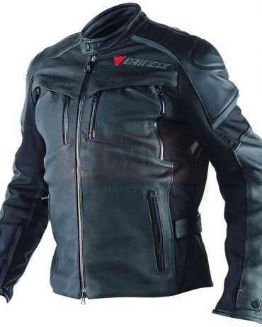 Cruiser D-Dry Men's Motorcycle Leather Jacket-Dainese Replica Motorbike Jackets Free Shipping