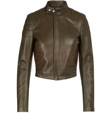 bottega veneta Leather Short Coat Fashion Coats Free Shipping