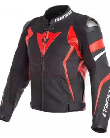 GP Plus R Perforated Motorcycle Leather Jacket-Alpinestars Motorbike Jackets Free Shipping