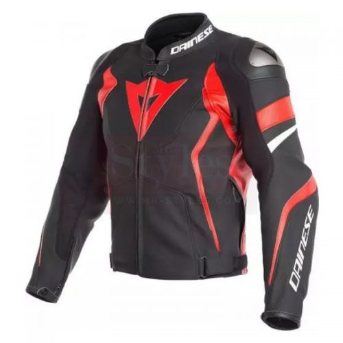 Avro Men's Motorcycle Leather Jacket-Dainese Replica Motorcycle Collection Free Shipping