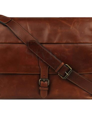 Wilsons Leather Jackson Leather Flapover Messenger Bag Bags Free Shipping