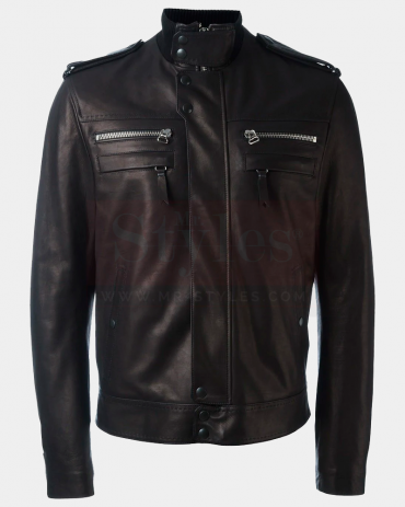 Fashion Classic Leather Winter Jackets Mr Styles Fashion Collection Free Shipping