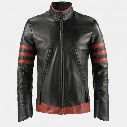X – MEN ORIGINS WOLVERINE LEATHER JACKET Fashion Collection Free Shipping