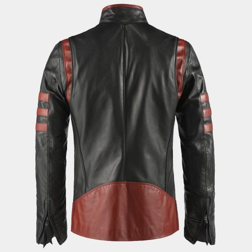 X – MEN ORIGINS WOLVERINE LEATHER JACKET Celebrities Leather Jackets Free Shipping