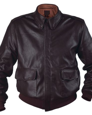 Flight Air Force Leather Bomber Jacket Fashion Jackets Free Shipping