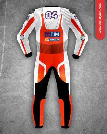 Andrea Dovizioso Suit 2016 Traje de Carreras Ducati MotoGP Andrea Dovizioso Suits Free Shipping