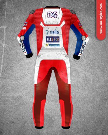 Andrea Dovizioso Suit 2017 Race Ducati Team MotoGP Andrea Dovizioso Suits Free Shipping