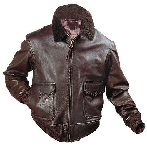 Authentic G1 US Naval Flight Best Leather Bomber Jacket Fashion Collection Free Shipping
