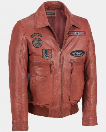 Brown Leather Bomber Jacket Amazon Fashion Jackets Free Shipping
