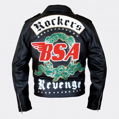 Faith Rockers Revenge Biker Fashion Moto Leather Jacket Guys Fashion Collection Free Shipping