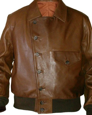 Barnstormer Leather Bomber Jacket Fashion Collection Free Shipping