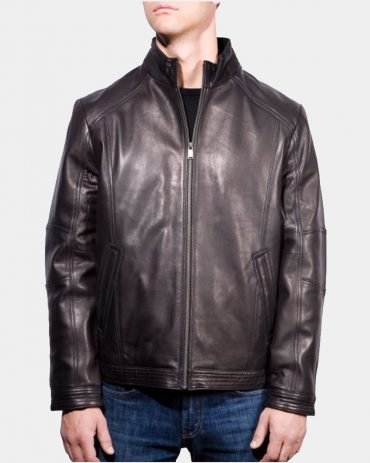 Boston Harbour Smooth Lamb Bomber Jacket Fashion Collection Free Shipping