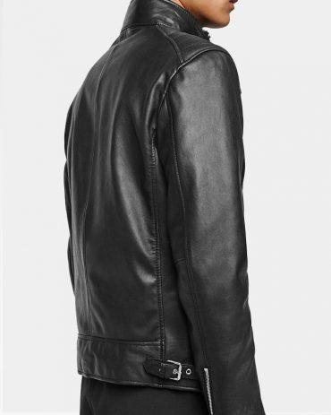 Combined Black Fashion Buy Leather Jacket Fashion Collection Free Shipping
