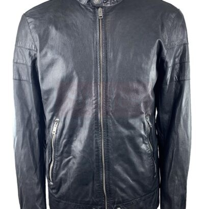 Diesel L-Tod Men's Small Leather Jacket Fashion Collection Free Shipping