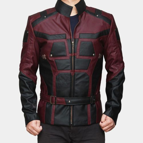 DareDevil Leather Jacket Fashion Collection Free Shipping