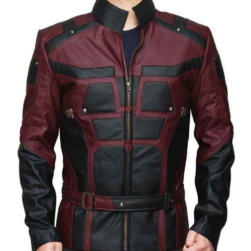 DareDevil Leather Jacket Celebrities Leather Jackets Free Shipping