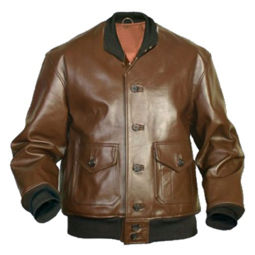 Flying Tigers Fighter Leather Sleeve Bomber Jacket Mens Fashion Collection Free Shipping