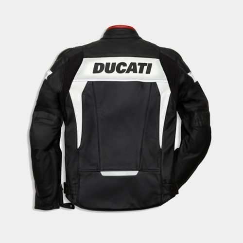 Ducati Replica Hi-Tech Men Motorcycle leather jacket Motorcycle Collection Free Shipping