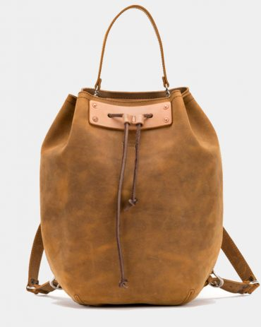 Saddlebackleather Leather-Bucket-Backpack Bags Free Shipping