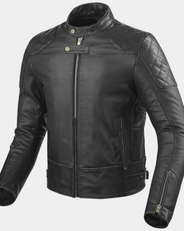 Lane Mens Motorcycle Leather Jackets Motorbike Jackets Free Shipping