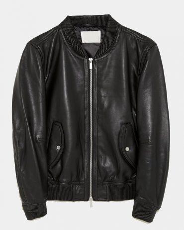 Bottega Veneta Leather Bomber Jacket Fashion Collection Free Shipping