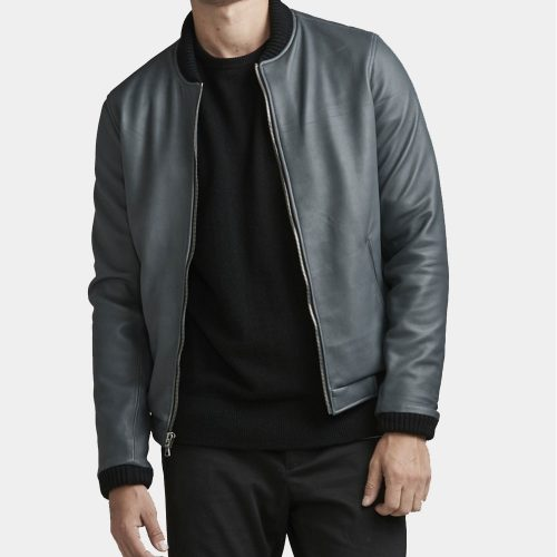 Bottega Veneta Leather Bomber Jacket Fashion Collection Free Shipping