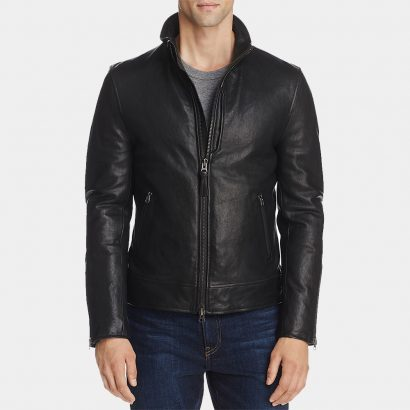 New Custom Quilted Leather Bomber Jacket Fashion Collection Free Shipping