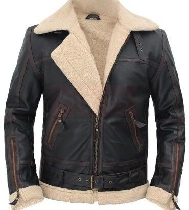 Bandit Cafe Racer Jacket in Lagoon Black Hand Waxed Leather Fashion Collection Free Shipping