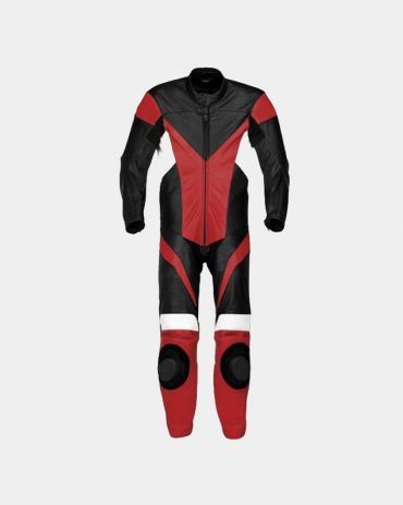 V-Dox Leather Racing Jacket Motorbike Collection Free Shipping