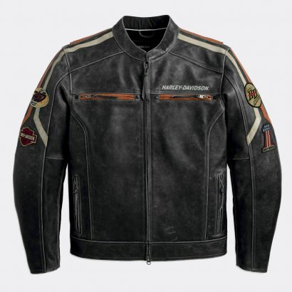 Mens Rider Distressed Biker Motorcycle Leather Jacket New Motorcycle Collection Free Shipping