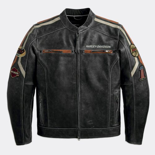 Mens Rider Distressed Biker Motorcycle Leather Jacket New Motorbike Jackets Free Shipping