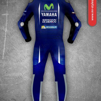 Maverick Vinales Suit 2017 Yamaha Movistar MotoGP Maverick Vinales Suits Free Shipping