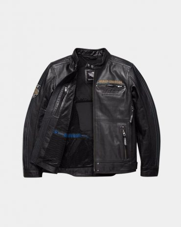 Men's harley davidson Motorcycle leather jacket Motorcycle Collection Free Shipping