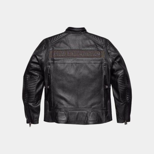 Harley Davidson Men's Asylum Leather Motorcycle Jacket Motorbike Jackets Free Shipping