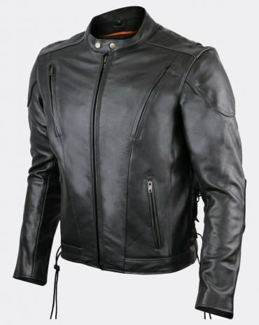 The Best Hepard Stylish Motorcycle Leather Jacket Motorbike Jackets Free Shipping