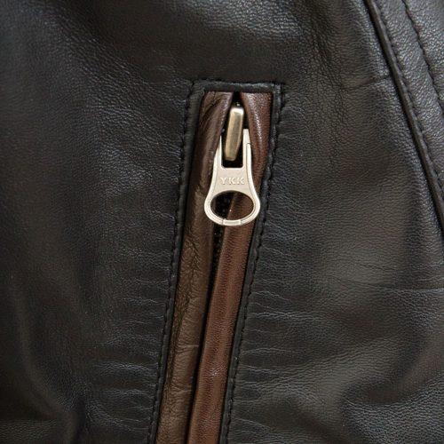 Men's Black Leather Coat Fashion Coats Free Shipping