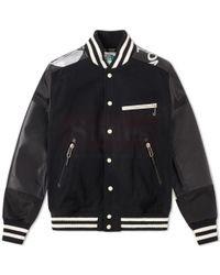Junya Watanabe MAN x The North Face Varsity Jacket Fashion Collection Free Shipping