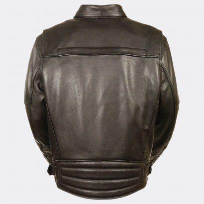 Motorcycle Leather Men's Side Belt Utility Pocket Motorcycle Jacket Motorcycle Collection Free Shipping