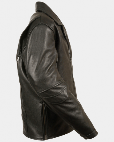 Triple Stitch Mens Motorcycle Leather Jackets Motorcycle Collection Free Shipping