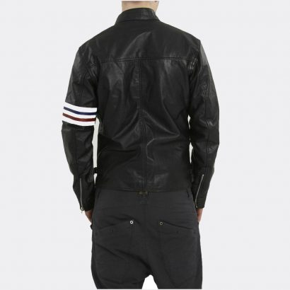 The New Styles Fashion Style Black Leather Jackets Mens Fashion Collection Free Shipping