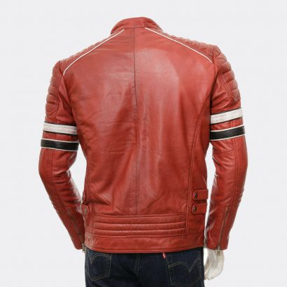 Men's Cheap Leather Jackets Slim Fit Biker Jacket Fashion Collection Free Shipping